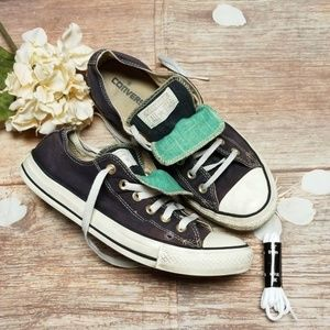 Converse All ⭐ star double tongue shoes